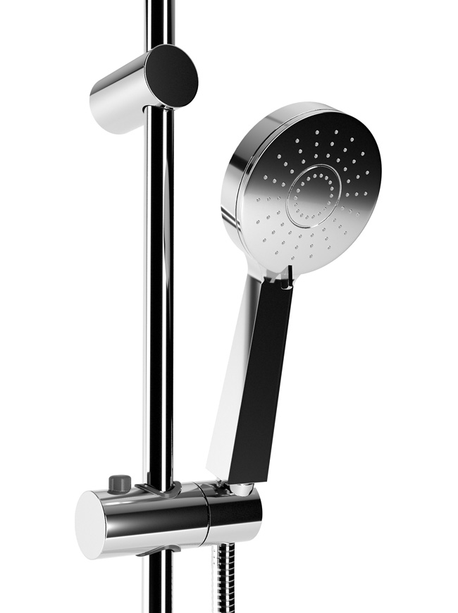 3D modelling of a shower head