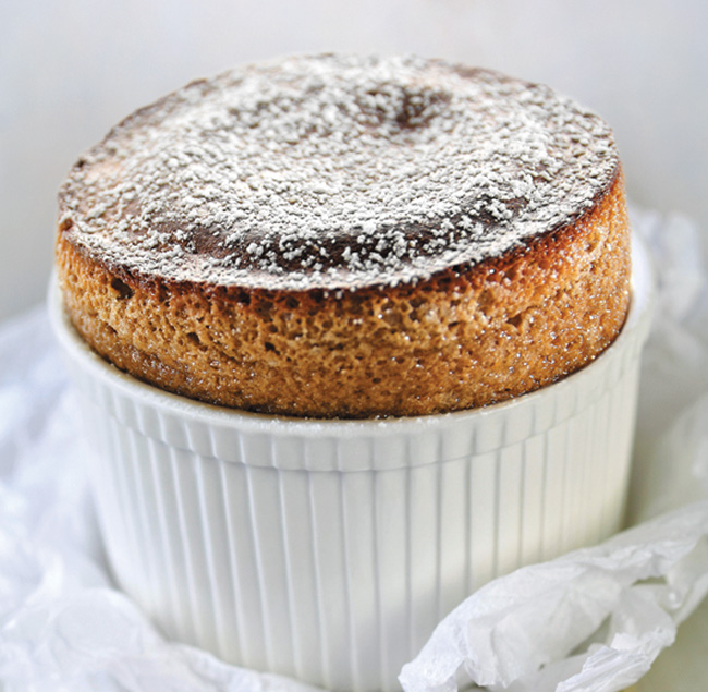 Delicious chocolate souffle food photography by FSG Design